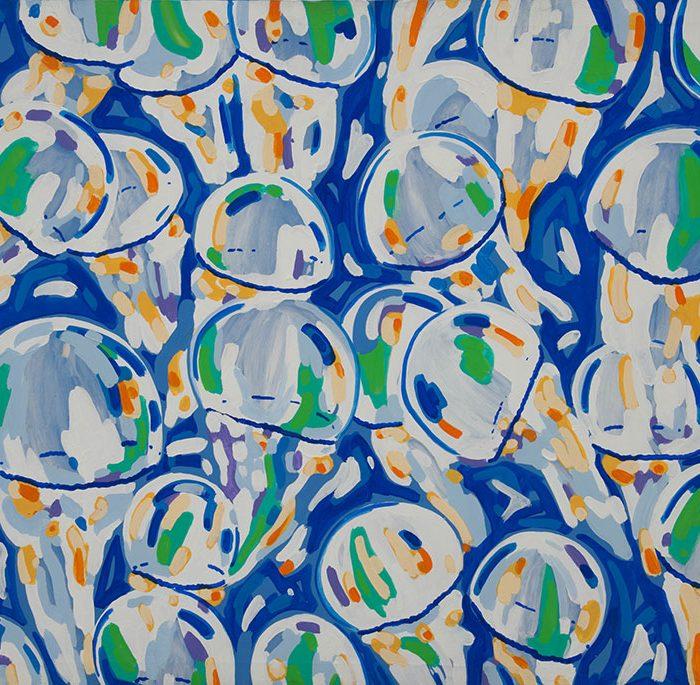 Meduse | Acrilico su tela 90x120